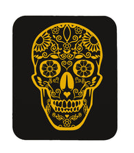 Day Of The Dead Sugar Skull Mouse Pad (Black)