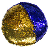 12 Inch Color Circle Shaped Color Changing Sequin Pillow