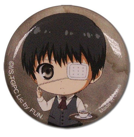 Great Eastern Entertainment Tokyo Ghoul Kaneki SD Button