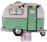 Camping Camper Lovers Camper Shaped Nightlight in Choice Of Color