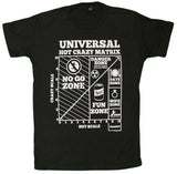 Hot Crazy Matrix Official Licensed Men's T-Shirt