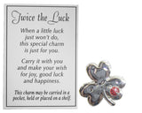 Twice the Luck Good Luck Pocket Charm