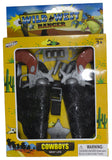 Economy Wild West Cowboy 2 Gun Play Set w/ Accessories