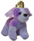 5 Inch Purple Princess Chihuahua Plush With Doggie Bag
