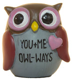 With Owl My Heart Owl Pocket Stone With Story Card (Owl Ways)