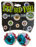 Eye See You Sequin Eyeball Earrings