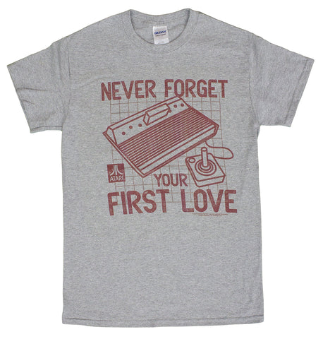 Men's Atari First Love Vintage Style Video Game T-Shirt