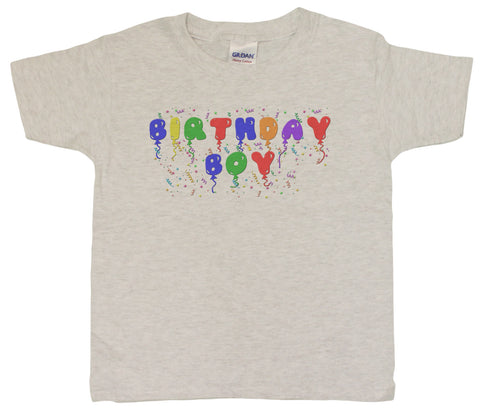 "Boys 4-20 ""Birthday Boy"" Funny Birthday Youth T-Shirt"