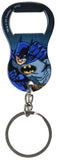 "DC Comics Stainless Steel 2.5"" Batman Wham Graphic Bottle Opener Keychain"