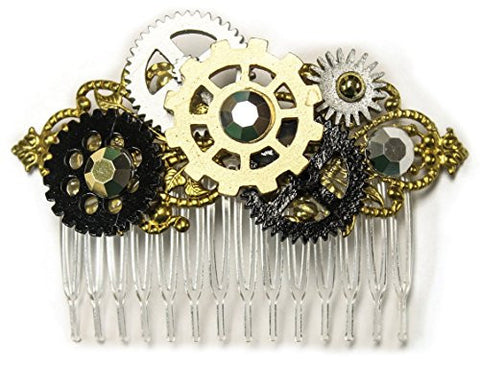 Steampunk Gear Comb