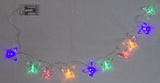 4 Foot Long Light Up Butterfly Garland w/ 10 Multicolored Lights