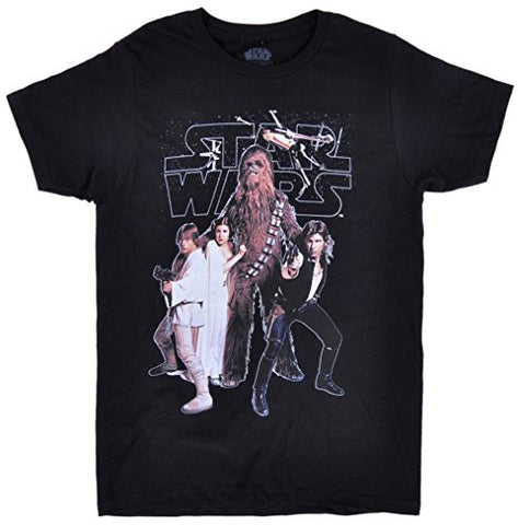 Disney Star Wars 'Rebel Squad' Classic Cast Men's T-Shirt