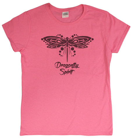 Dragonfly Spirit Ladies T-Shirt