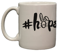 #Hopster Funny Easter 11 Ounce Ceramic Coffee Mug Microwave/ DW Safe