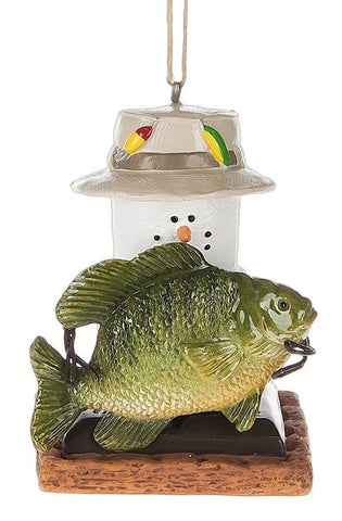 S'mores with Fish Ornament