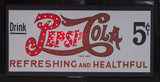"Pepsi Cola Officially Licensed 19"" Flashing LED Sign with Hang Chain"
