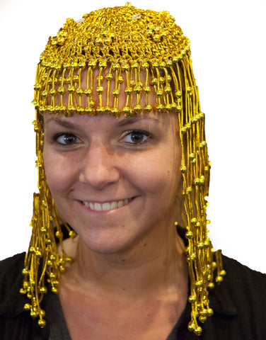 Cleopatra Headpiece Novelty Costume Headwear- One size fits MOST