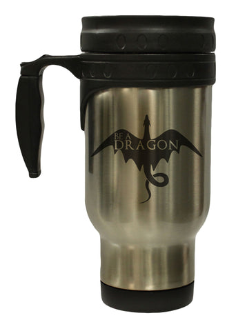 Be A Dragon Stainless 12 oz Hot Cold Travel Mug