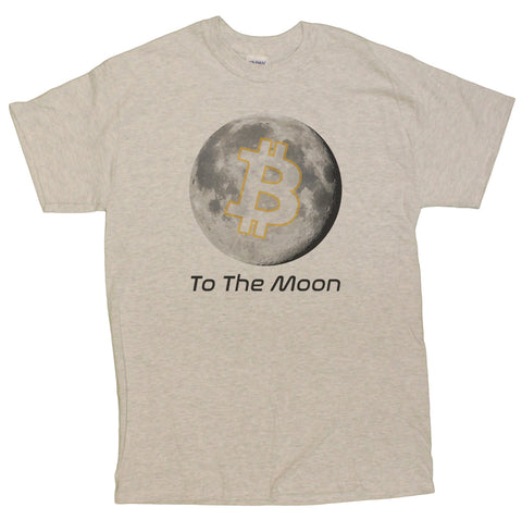 Men's Bitcoin To The Moon Graphic T-Shirt