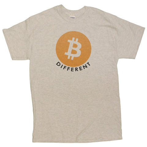 Men's Bitcoin Be Different Graphic T-Shirt