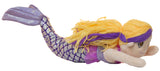 18 Inch Plush Swimming Mermaid on a Stick (Blue Purple)