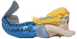 18 Inch Plush Swimming Mermaid on a Stick (Blue)