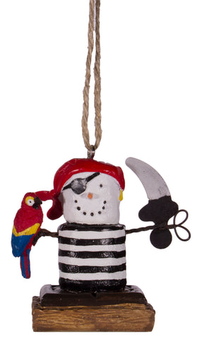 S'more's Pirate Christmas/ Everyday Ornament