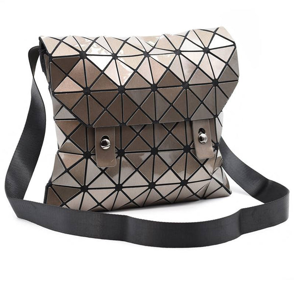 Deisgn Led Resin Geometric Cross Body with Adjustable Handle