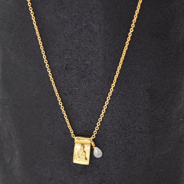 18ct gold plated sterling silver chain necklace
