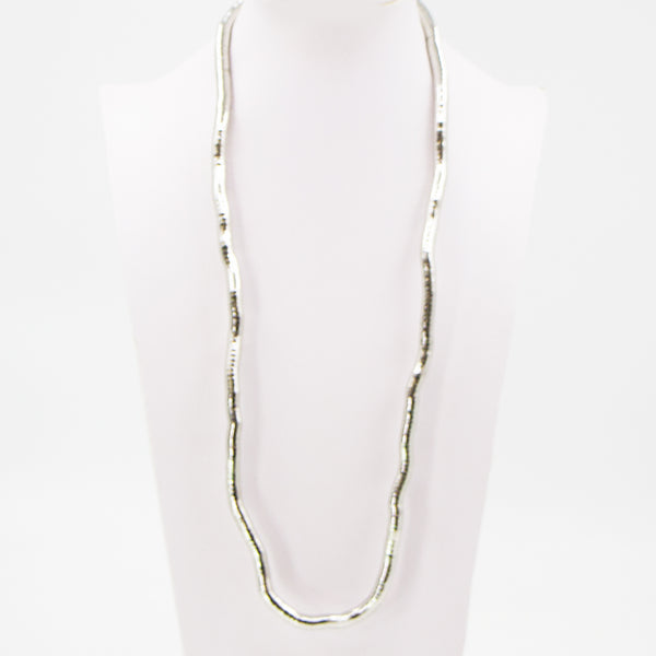Malleable snake style necklace 1cm