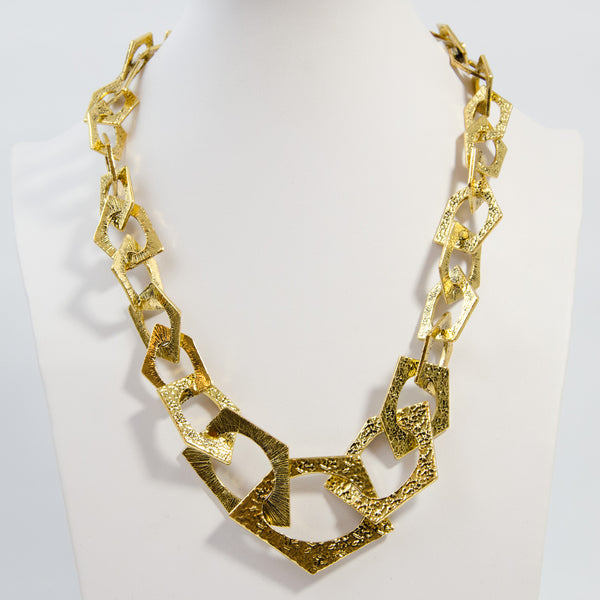 Edgy urban belcher chain nacklace