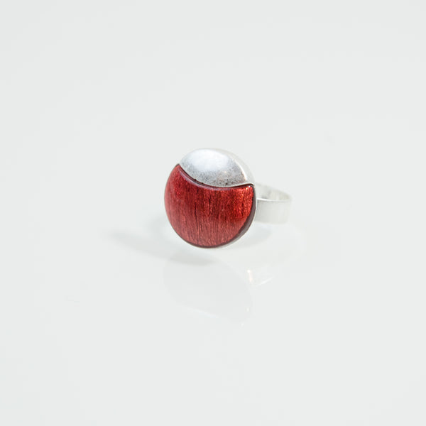 Adjustable half resin ring