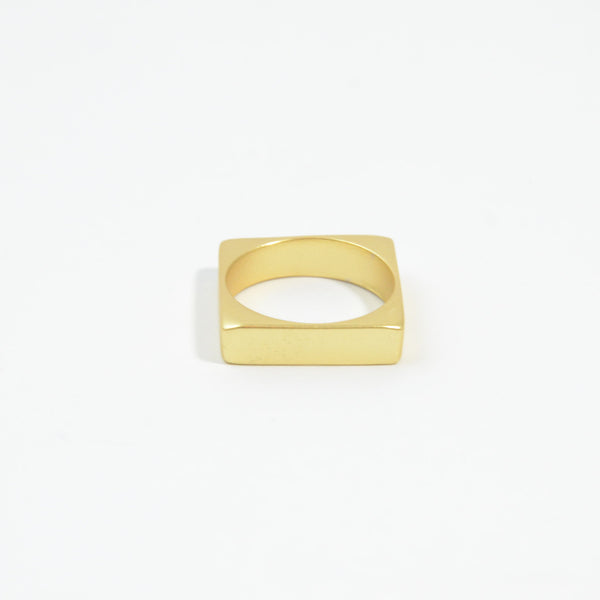 Contemporary square ring