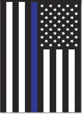 Police Blue Line USA Flag