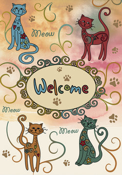Meow Welcome - Islander Flags of Kitty Hawk, Inc.