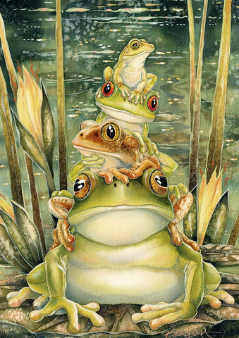 Tower of Frogs