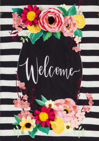 Floral Swag Welcome