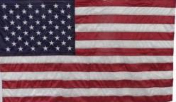 US Knit Polyester Flag