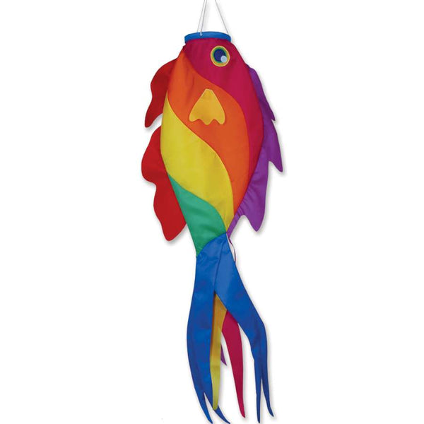 Rainbow Wrasse Fish Windsock