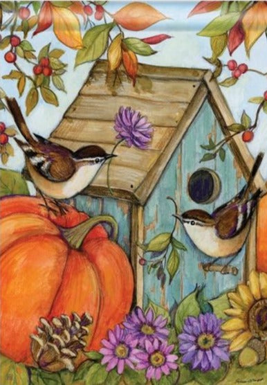 Autumn Birdhouse