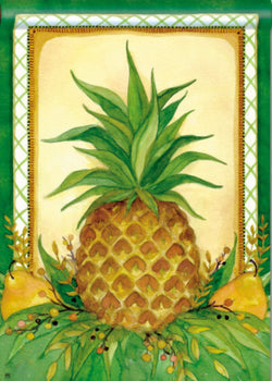 Pineapple and Pears 28x40 - Islander Flags of Kitty Hawk, Inc.