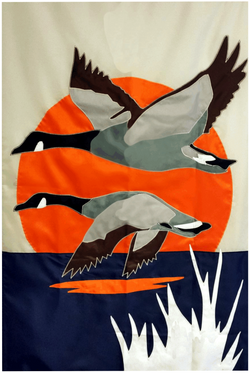 Evening Geese - Islander Flags of Kitty Hawk, Inc.