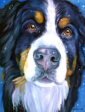 Luca the Bernese Mountain Dog - Islander Flags of Kitty Hawk, Inc.