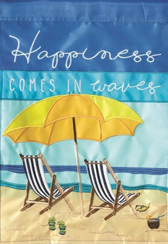 Beach Chairs Happiness