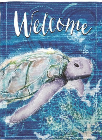Welcome Deep Blue Sea Turtle