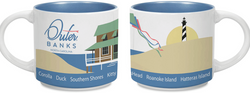 Outer Banks Mug - Islander Flags of Kitty Hawk, Inc.