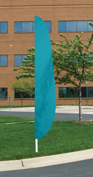 12 ft Solid Color Feather Flags - Islander Flags of Kitty Hawk, Inc.