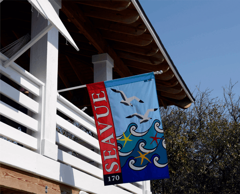 Custom Appliqued Flags - Islander Flags of Kitty Hawk, Inc.