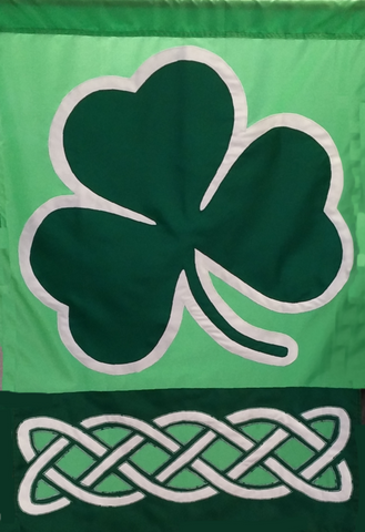 Shamrock with Celtic Knot - Islander Flags of Kitty Hawk, Inc.