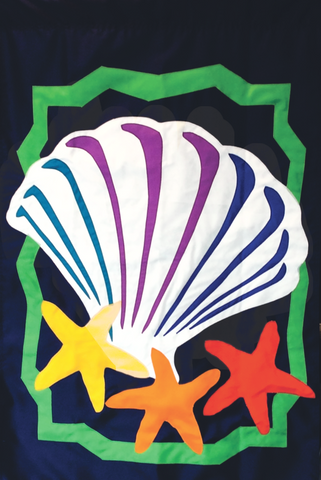 Shell and Seastars - Islander Flags of Kitty Hawk, Inc.